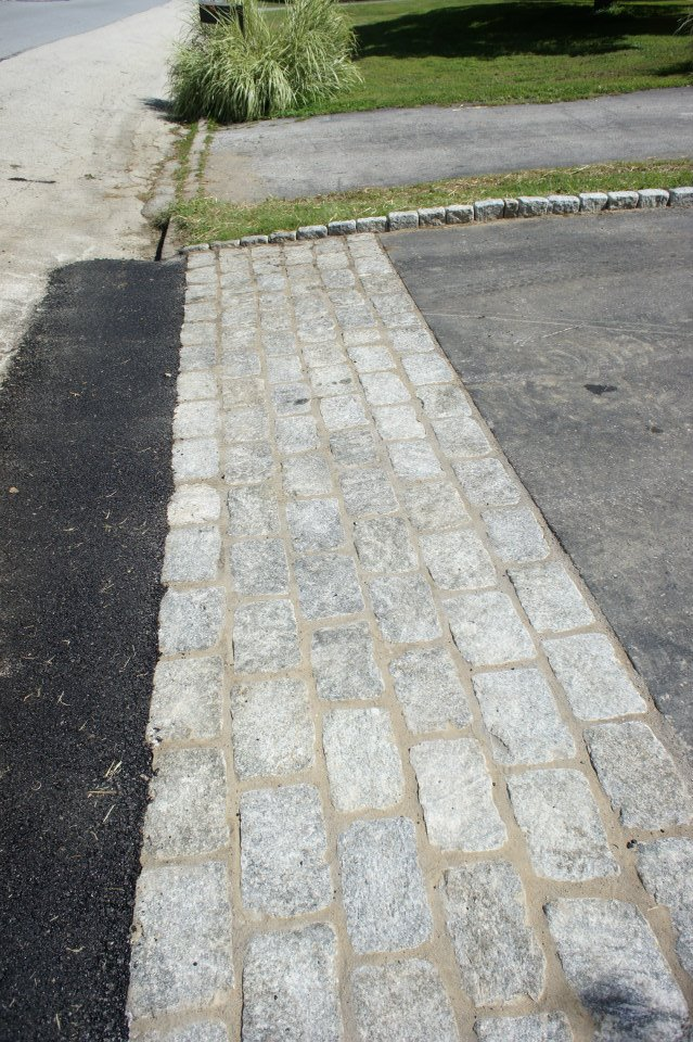 Top Notch General Contracting | Retaining Wall | Wayne Renovation |Belgian Block