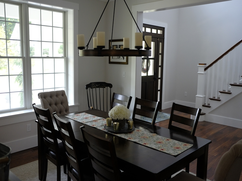 Dining Room | New Home Construction | Top Notch General Contracting