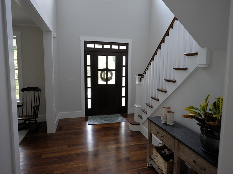 House Entryway | New Home Construction | Top Notch General Contracting