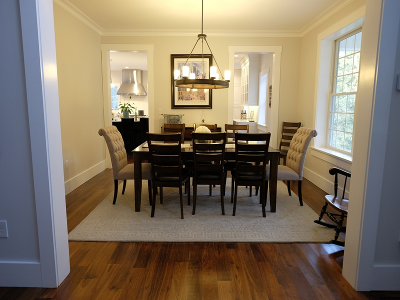 Dining Area | New Home Construction | Top Notch General Contracting