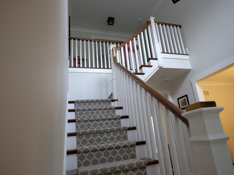 Stairway | New Home Construction | Top Notch General Contracting