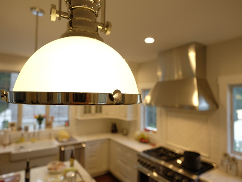Kitchen Lighting | New Home Construction | Top Notch General Contracting