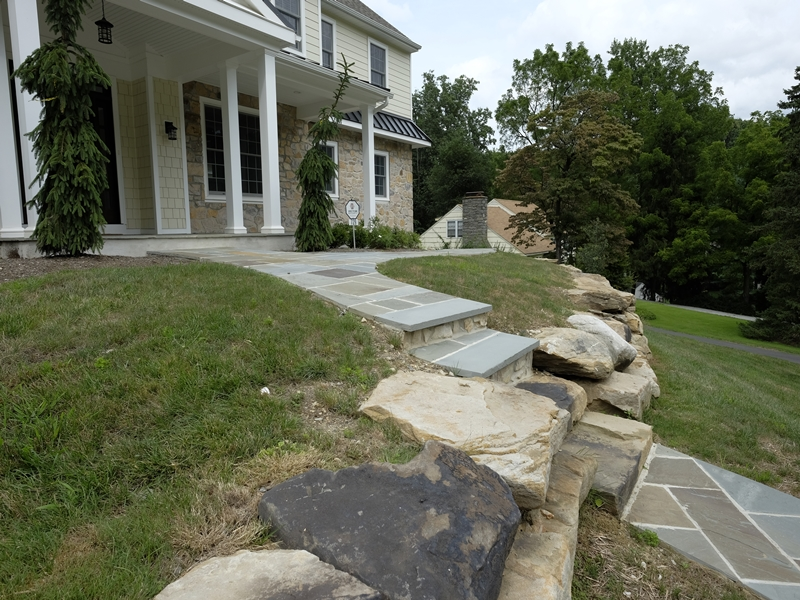 Front Walkway | Top Notch General Contracting