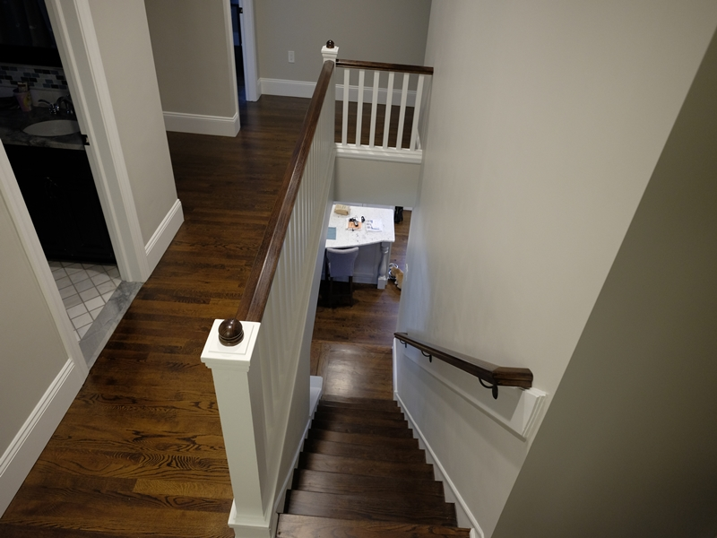 Stairway and Railing | Top Notch General Contracting